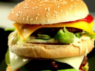 Double Cheeseburger -