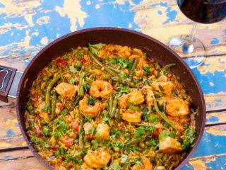 Fish, Shrimp and Rice Stew -