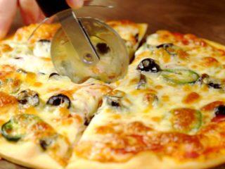 Jalapeno Salami Pizza -