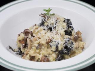 4-Types Mushroom Risotto -
