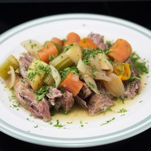 Slow-Cooked Lamb Breast -