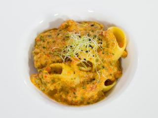 Paccheri Pasta with Veggie Sauce -