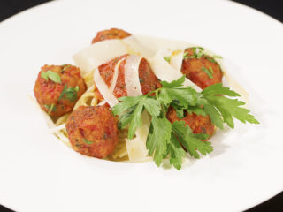 Spaghetti and Meatballs -