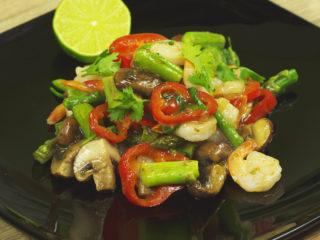 Shrimp and Veggie Stir-Fry -