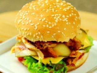Pulled Chicken Burger -