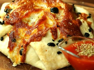 Chicken, Bacon, and Spinach Pie -