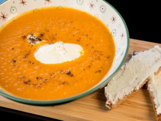 Creamy White Radish Soup -