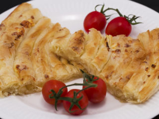 Cheese Maznik Pie -