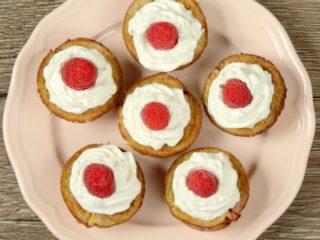 Banana and Raspberry Muffins -