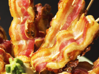 Bacon and Puff Pastry Skewers -