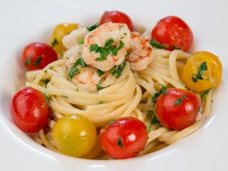 Shrimp Spaghetti -