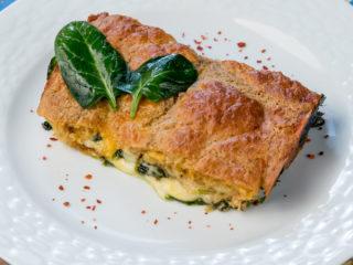 Cheesy Spinach Pie -