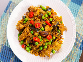 Fried Pork Rice -