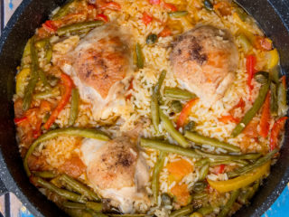 Chicken and Green Bean Stew -