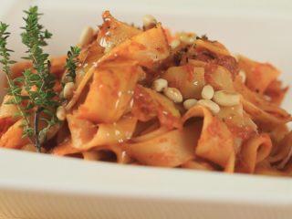 Anchovy Sauce Tagliatelle -