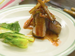 Duck Breast with Sweet and Sour Glaze