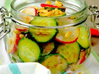 Spicy Pine Nut Salad -