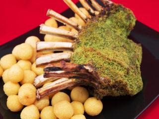 Parsley Crusted Rack of Lamb -