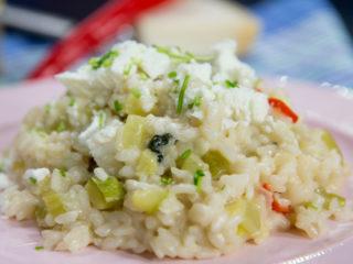 Zucchini Risotto -