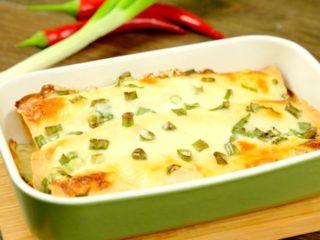 Tortilla and Scrambled Egg Casserole -