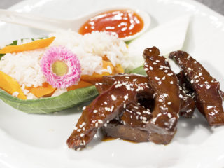 Sweet and Sour Caramelized Beef -