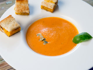 Tomato and Cream Cheese Soup -