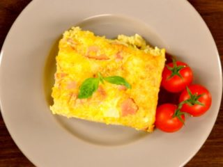 Egg and Cheese Pie -