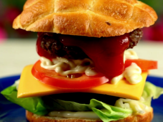 Double Trouble Burger -