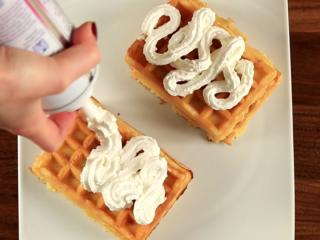 Forest Fruit Waffles -