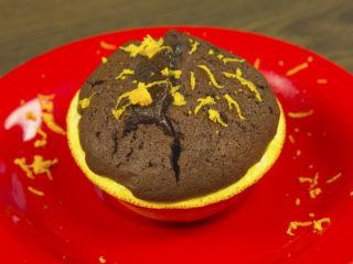 Muffins in Orange Peels -