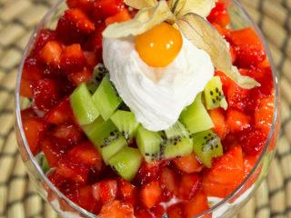 Strawberry and Kiwi Cream -