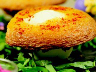 Hard-Boiled Egg Muffins -
