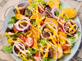 Ground Beef Salad -