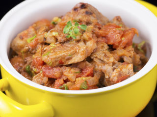 Yogurt-Marinated Lamb and Onion Stew -