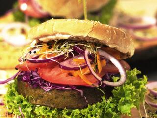 Chickpea Burger -