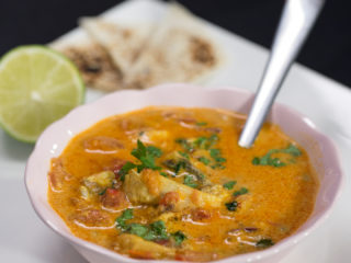 Spicy Fish Curry -