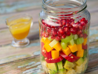 Sweet and Spicy Pasta Salad -