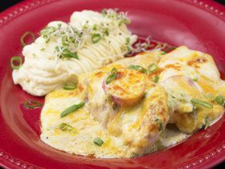 Cheesy Chicken Casserole -