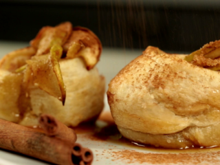 Apple Puff Pastry Baskets -