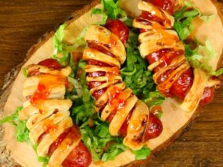 Puff Pastry BBQ Sausages -