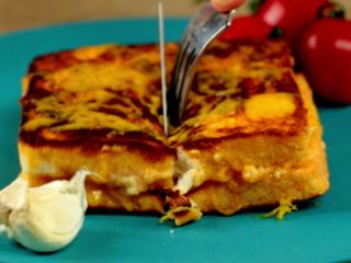 Chorizo and Cheese Sandwich -