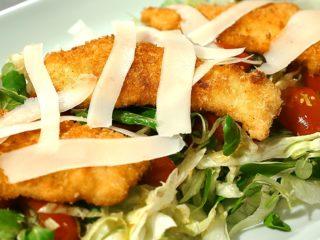 Turkey Strip Salad -