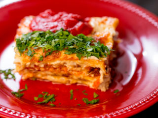 Turkey Lasagna -