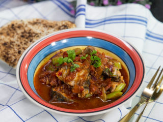 Mackerel in Tomato Sauce -