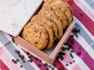 Chocolate Chip and Walnut Cookies -