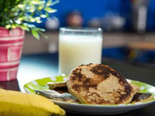 Gluten-Free Banana Pancakes -
