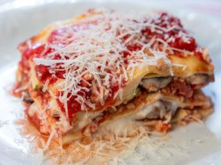 Turkey and Zucchini Lasagna -