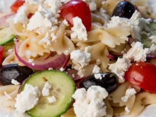 Farfalle Pasta Salad -
