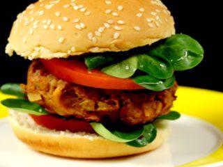 Vegetarian Burger -