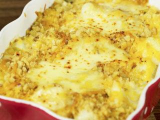 Cheesy Cauliflower Casserole -